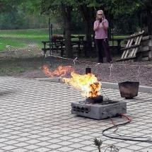 Verschiedene Demonstrationen mit dem Firepocket