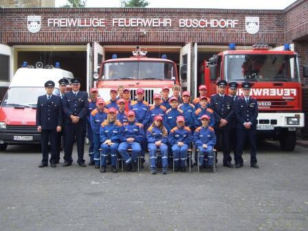 Jugendfeuerwehr - Juni 2008